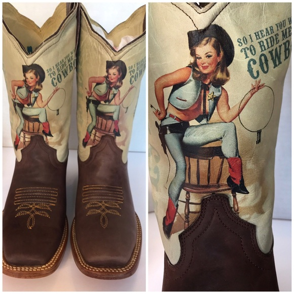 9c769e549f3 Jar Leather Pin Up Boots